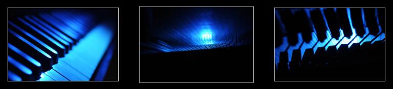 Exposition Piano Bleu de Klaod Roparz
